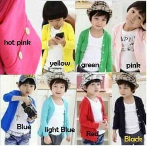 Sweater anak unisex import 3-7th fanta biru hitam 45rb